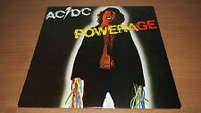 AC/DC Powerage Aussie Pressing Vinyl LP Record Alberts Black Label OOP VG+/NM