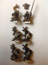 Warhammer. Dwarf Hammerers And Command. Metal. Oop.
