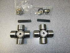 NEW POLARIS RZR 800 900 FRONT PROP SHAFT U-JOINT KIT U JOINT PAIR OUTSIDE RINGS