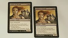 MtG X2Legions of LIm-Dul X2 Coldsnap M-NM Coldsnap Theme Deck Reprint Zombie