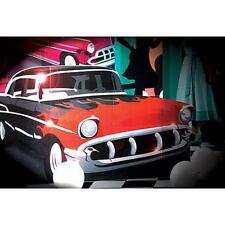 Lifesize Cardboard Cutout Standee Party Decoration classic Car Hot Rod Fifties