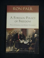 A Foreign Policy of Freedom by Ron Paul 2007 Paperback
