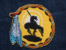 ECUSSON PATCH THERMOCOLLANT ATTRAPE REVE INDIEN cheval country biker cow boy 1%