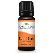 Carrot Seed Essential Oil 10 mL (1/3 oz) 100% Pure, Undiluted, Therapeutic Grade