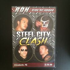 ROH Steel City Clash Ring of Honor PWG NJPW Daniel Bryan vs Quackenbush WWE OOP