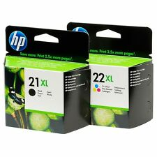 2 cartuchos hp HP 21XL negro  + 2 22xl color originales 100% precintados
