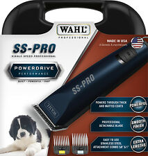 Wahl Professional SS-PRO Single Speed Dog/Pet/Animal Clipper Quiet-Powerful-Fast