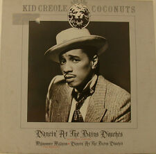 """KID CREOLE AND THE COCONUTS DANCIN´ AT THE BAINS DOUCHES 12"""" LP (h438)"""