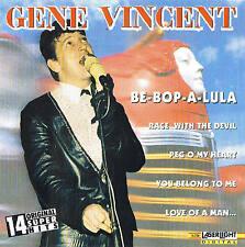 "Gene Vincent ""Be-Bop-A-Lula"" CD 14 TRACKS NUOVO & OVP aserlight 1996"