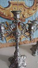 FAB antiguo francés una casa de muñecas en miniatura candelabros Candelabros c1910