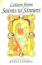 Letters From Saints To Sinners by John Cumming paperback book