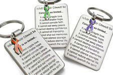 What Cancer Cannot Do Keychain