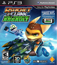 Ratchet & Clank: Full Frontal Assault GAME (Sony Playstation 3) PS PS3