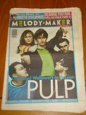 MELODY MAKER 1994 JUNE 4 PULP PANTERA THE ORB NIN MOBY NINE INCH NAILS