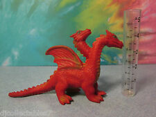 "Imperial? Made In China 6 ""Jigglier Winged Red Fire Dragon Soft Bead Filled"