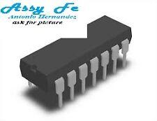 4 pcs x 74HC393N IC-DIP14 Contador-Divisor/Counter-Divider 4-Bit Binary PHILIPS