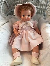 "Vintage Antique 1942 Effanbee Sweetie Pie Composition Doll 24"" Original Outfit"
