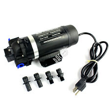 110V-120V 160PSI High Pressure Misting Pump Booster Diaphragm Water Pump Sprayer