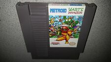 METROID WART'S INVASION NINTENDO NES NRMT CONDITION GAME CARTRIDGE