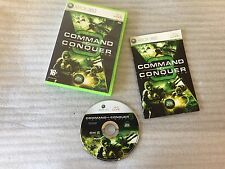 Command and Conquer Tiberium Wars For Microsoft Xbox 360 Game PAL Complete