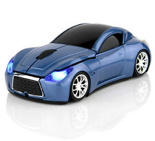 3D Infiniti Racing car USB Wireless Mouse 2.4G Optical mice for PC/Laptop MAC