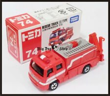TOMICA #74 HINO RESCUE TRUCK III TYPE TOMY GIFT DIECAST CAR