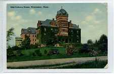 (Lq045-296) Odd Fellows Home, Worcester Mass c1920 Unused, G-VG