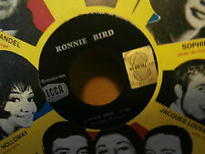 "ronnie bird""tout seul""je ne mens pas""single7""or.fr.promo juke box.decca:71011."
