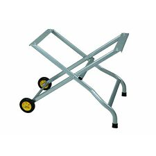 """Folding Tile Saw Stand with Two 4"""" wheels, Resists Rust & Corrosion Easy Storage"""