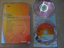 Microsoft Office 2007 Ultimate / Vollversion / deutsch / Retailbox 76H-00053