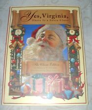 """YES, VIRGINIA, THERE IS A SANTA CLAUS"" ~ VERY GOOD CONDITION ~ FREE SHIPPING"