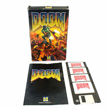Mail order doom par id software pour ms-dos, 1993, big box, tireur, sci-fi,