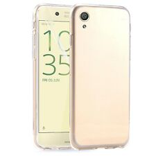 Sony Xperia XZ - New Ultra Thin Crystal Clear Soft Gel Back Case Cover Pouch