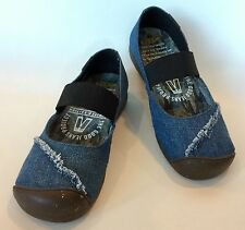 Keen Good Jeans Project Mary Jane Denim Shoes - Size 7 US - New!