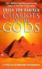 Chariots of the Gods by Erich von Däniken (1987, Hardcover, Prebound)