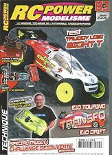 RC POWER MODELISME N°83 TRUGGY LOSI 8IGHT T / ELO TOURING / TRUGGY / UN TT I/10