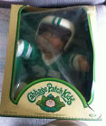 VINTAGE ORIGINAL COLECO CABBAGE PATCH KIDS FOOTBALL OUTFIT BOY IN ORIGINAL BOX