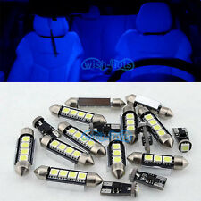 14 Pieces Blue Canbus Interior LED Light Package For BMW 3 Series E46 Touring