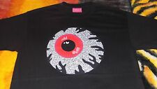 Mishka~Keep Watch Jordan Crackle Shirt~Large~Black/Red/Cement Grey~VERY RARE