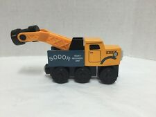 Thomas And Friends Wooden Railway Butch Wood Sodor Heavy Recovery Unit