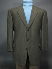 COPPLEY Sport Coat Forest Green Ermenegildo Zegna Cashmere & Wool Cloth 48L