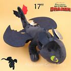 How to Train Your Dragon Toothless Plush Night Fury Soft Toy Stuffed Animal 17""
