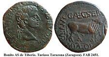 Año 14/36 d.C. Turiaso. Tarazona. Zaragoza. AS Bronce. Época de Tiberio. 13,33 g