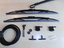 Wischerblatter Washer Jets Conversion Kit DEFENDER (Clip to Wiper Arms Blades)