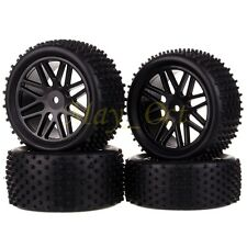 4x 1/10 HSP Off-Road Buggy Front Rear Wheel Rims Tyres,Tires Sponge 66020-66040