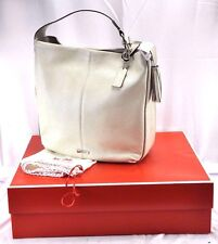 CLASSY COACH AVERY LEATHER HOBO PEARL SHOULDER HANDBAG F23309