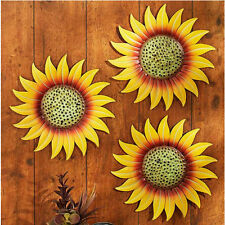 Patio Decorating Ideas Bathroom Sunroom Sunflower Kitchen Outdoor Metal Wall Art