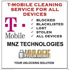 T-Mobile USA IMEI CLEANING UNBLOCKING UNBARRING SERVICE STOLEN BLACKLISTED EIP