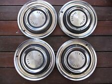 "1958 58 PONTIAC 14"" HUBCAP, HUB CAP a set of four"