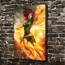 "8""x12"" HD Canvas print painting (No frame) X-MEN Marvel Girl JEAN GREY #A1376"